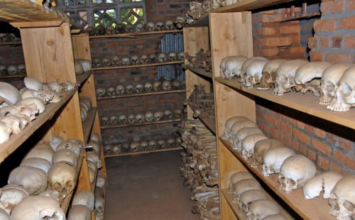 Nyamata memorial Site Rwanda