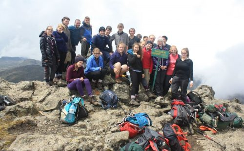 Combined Trail Hiking Mount Elgon National Park Uganda