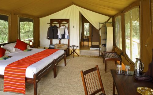 Elephant Pepper Camp in Maasai Mara National Reserve