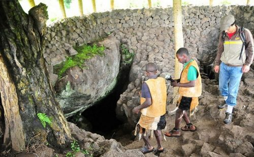 Historical Exploration of the Dormant Volcano Areas