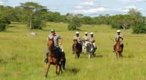 Horse Back Safaris in Uganda in lake mburo national park