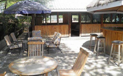 Hotel Hippo Buck in Ruma national Park