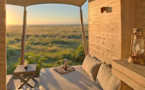 Kikwa Tembo Tented Camp in Maasai Mara National Reserve.