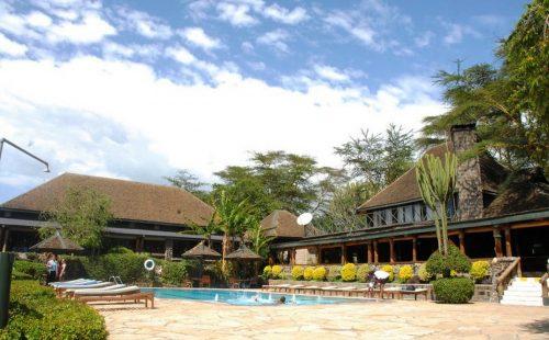Lake Nakuru Flamingo Lodge in Lake Nakuru National Park Kenya