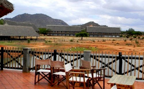 Voi Wildlife Lodge Tsavo East National Park