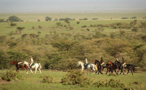 Horseback Chyulu Hills National Park