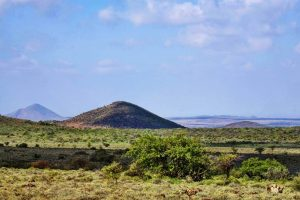 Marsabit National Park extinct volcano