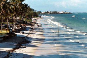 Mombasa coast